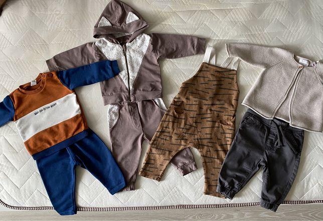 Спортивный костюм, комбинезон, штаны LC Waikiki, кофта Zara 6-12 мес