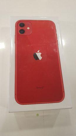 NOWY Telefon iPhone 11 64 GB Czerwony Teletorium Renoma Wrocław GWARAN