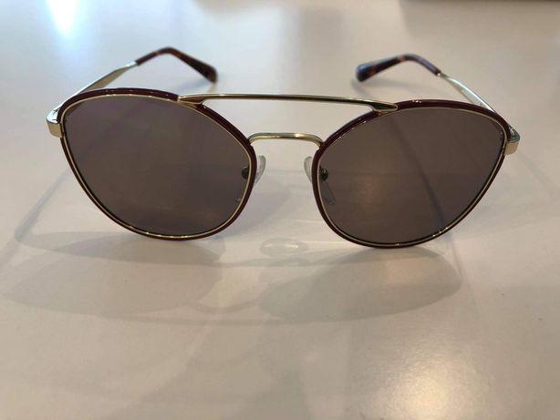 PRADA SPR 63T , okulary przeciwsłoneczne, nowe, oryginalne