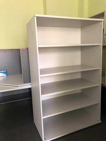 Regał z półkami biurowy z nadstawką