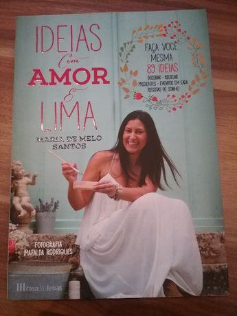 Livro Ideias com amor e lima