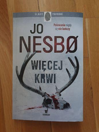 Jo Nesbo Więcej Krwi kryminał książka opowieść