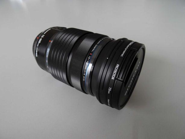 Obiektyw Olympus M.ZUIKO ED 12-100 mm f/4.0 IS PRO + filtr