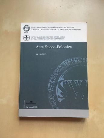Książka Acta Sueco-Polonica