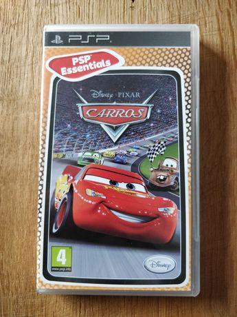 Jogo PSP Carros Disney Pixar PSP Essentials original