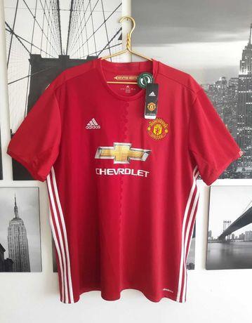 NEW! Футбольная футболка Adidas Manchester United (2XL) (Nike)