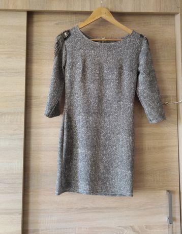 Nowa sukienka szara rozmiar S/M