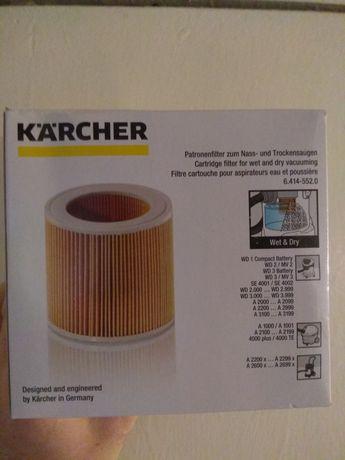 Патронный фильтр для пылесосов Karcher