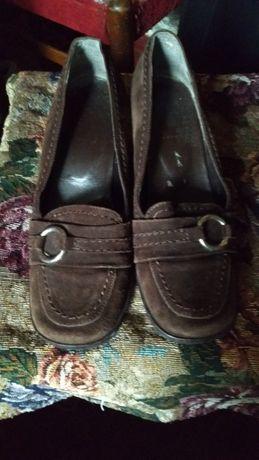 Туфли замш кожа́ Италия