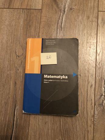 Matematyka 1 zbiór zadań do liceów i techników PAZDRO