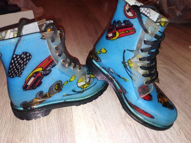 Резиновые сапожки, ботиночки