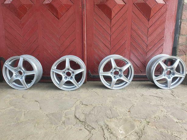 Комплект титанових дисків R15 RIAL 5 на 114,3 Mazda Honda Mitsubishi