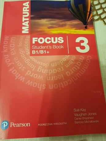 Focus student's book 3 matura Pearson podręcznik