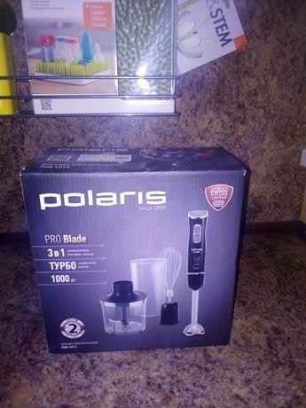 Polaris блендер 3в1 почти новый на гарантии