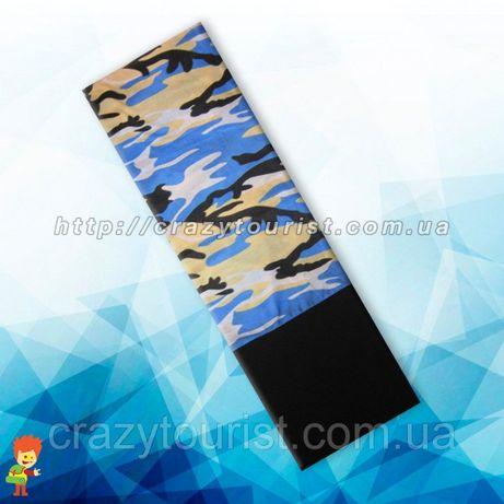 Теплый бафф маска с флисом зимняя маска защитная флисовая