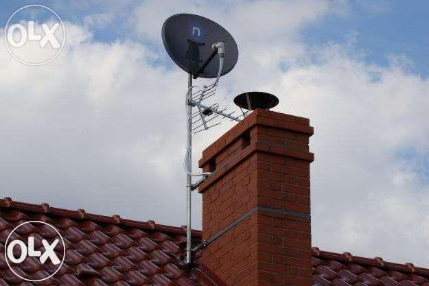 montaż instalacja anteny