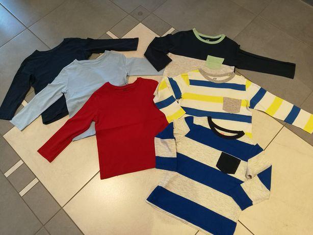 Bluzeczki z długim rękawem H&M, r. 98/104