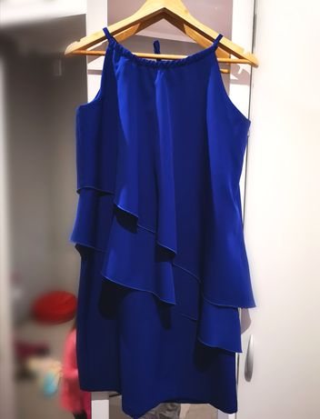 Sukienka falbany