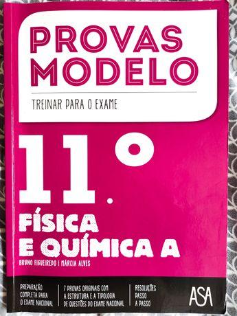 Livro Provas Modelo FQA 11 Asa