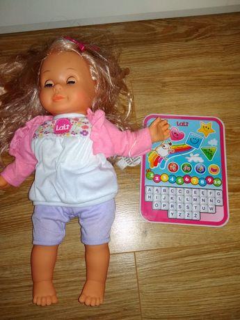 Lalka Lali Interaktywna Lalka z Tabletem
