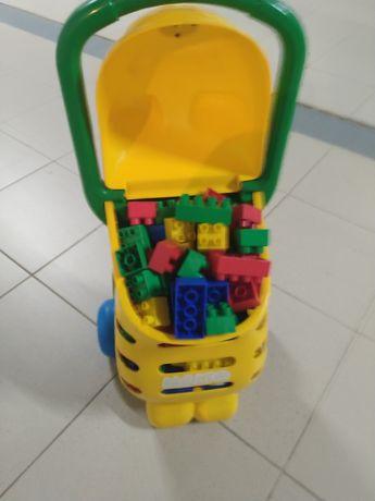Lego - Carrinho de Lego criança