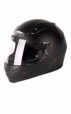 Zabudowany kask motocyklowy marki NITRO roz, XL