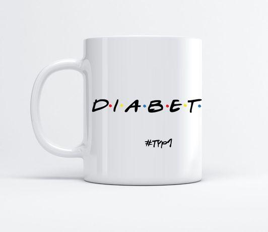 Kubek Diabetyka Chorego na cukrzycę Oryginalny BezCukru.blog