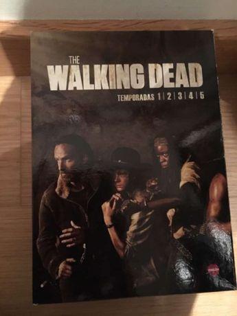 DVD walking Dead temporada 1, 2, 3, 4, 5
