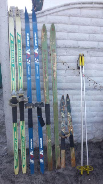 Продам лыжи производства СССР