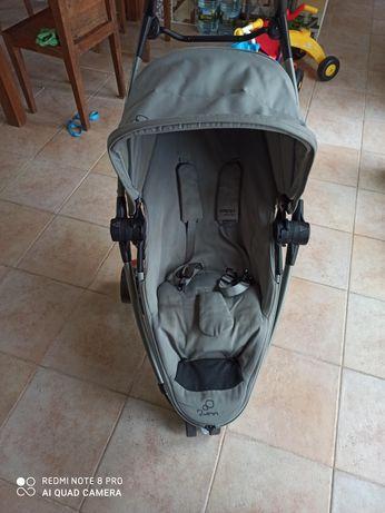 Vendo carrinho zapp xtra grey com adapatdor e ovo maxicosi
