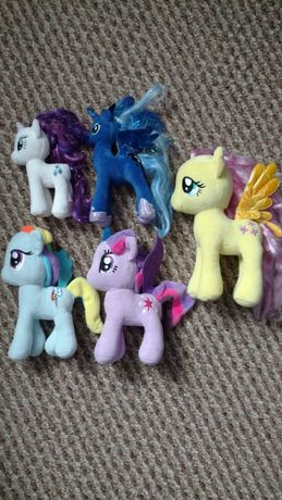 Zestaw pluszaków my little pony
