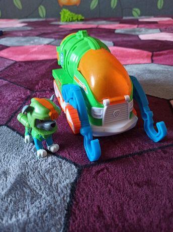 Rocky psi patrol z pojazdem