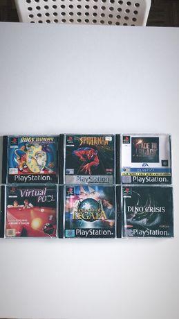 Jogos RAROS Playstation 1!