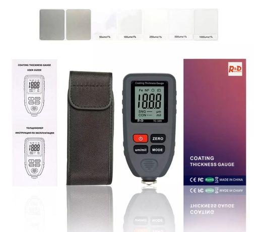 Товщиномір фарби R&D Tc100, толщиномер краски ЛКП