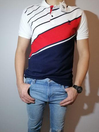Bardzo ładna koszulka polo US . POLO M L XL XXL