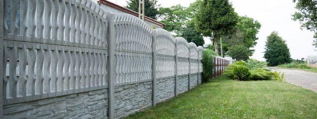 Ogrodzenia betonowe, przęsła, panel. podmurówki - MUCHA - OGRODZENIA