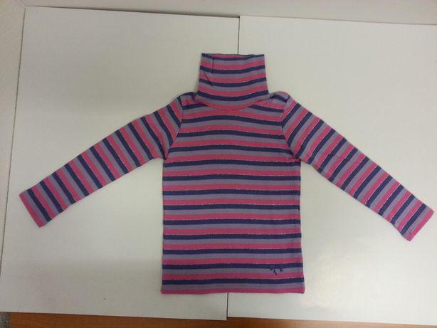 Golf sweterek bluzka z błyszczącą nitką rozm. 92