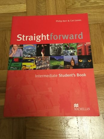 Straight forward intermediate student's book MACMILLAN angielski