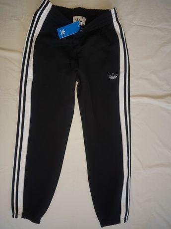 spodnie sportowe bawełniane adidas super model nówki