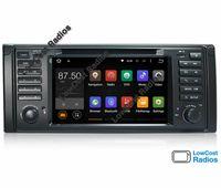 Rádio GPS BMW Série 5 E39/53/M5/X5 ESPECIAL E39 sem curvas ANDROID 10