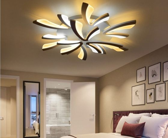 Lampa LED LAMPA sufitowa PLAFON Eko LED 6+3