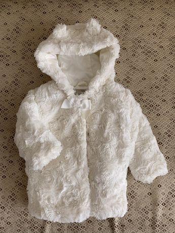 Шубка курточка для девочки George 6-9 размер