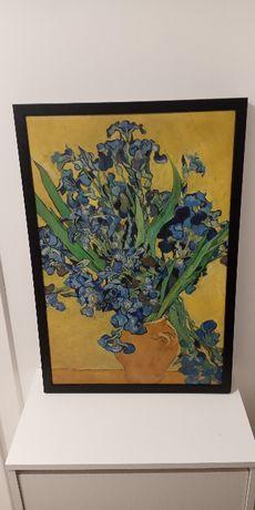 "Obraz w ramie ""Irysy"" Vincent Van Gogh"