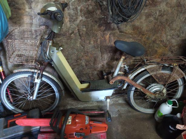 Bicicleta elétrica clássica
