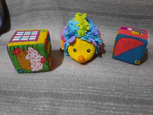 Продам ежика и два кубика