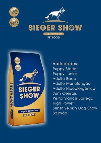 SIEGERSHOW - Ração super premium - Sieger show - Pastor alemão