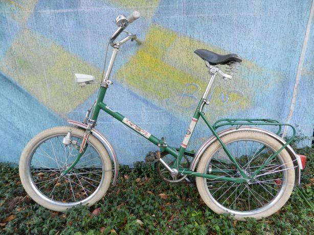 Rower - zielony składak