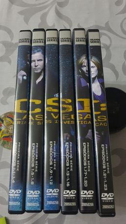 6 DVD Série CSI - Las Vegas, série I