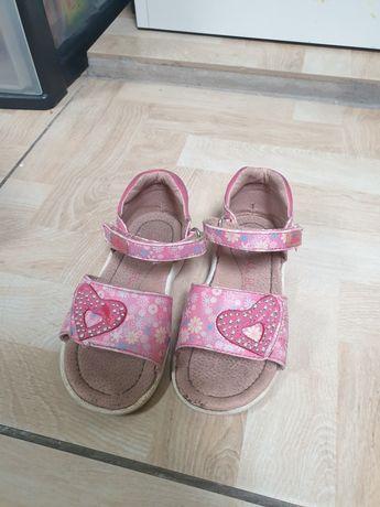 Sandały dziewczęce r.23