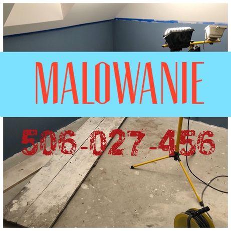 MALOWNIE ścian sufitów pomieszczeń mieszkań domów WARSZAWA MALARZ